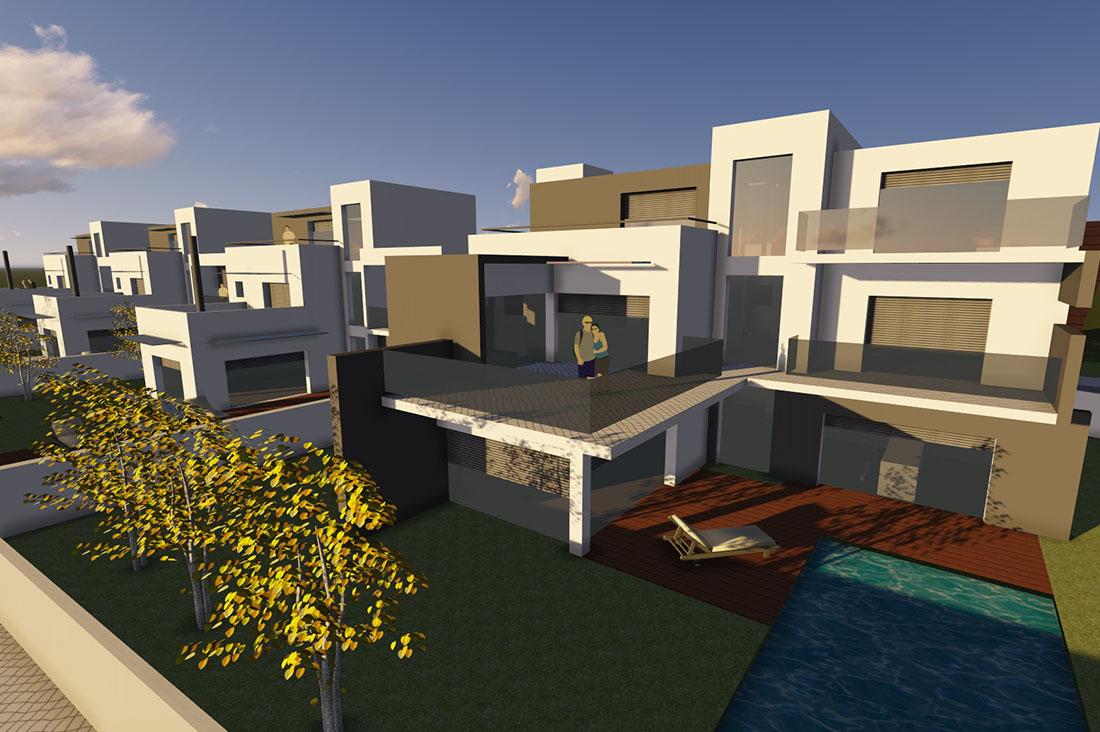 condomínio, casas madalena, moradias de luxo, viver em Portugal
